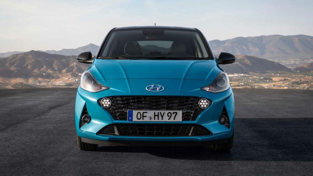 Hyundai представил новый хэтчбек Hyundai i10