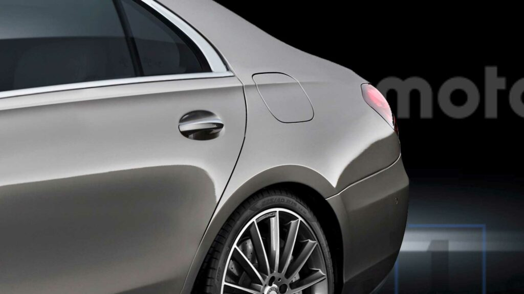 Новый Mercedes-Benz S-класса представлен на рендерах
