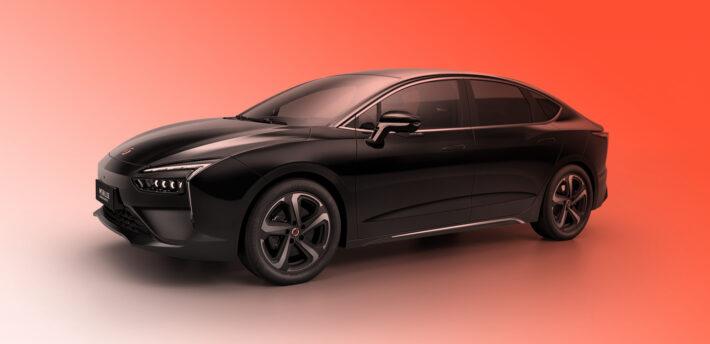 Компания Renault представила новый электрический седан Mobilize Limo