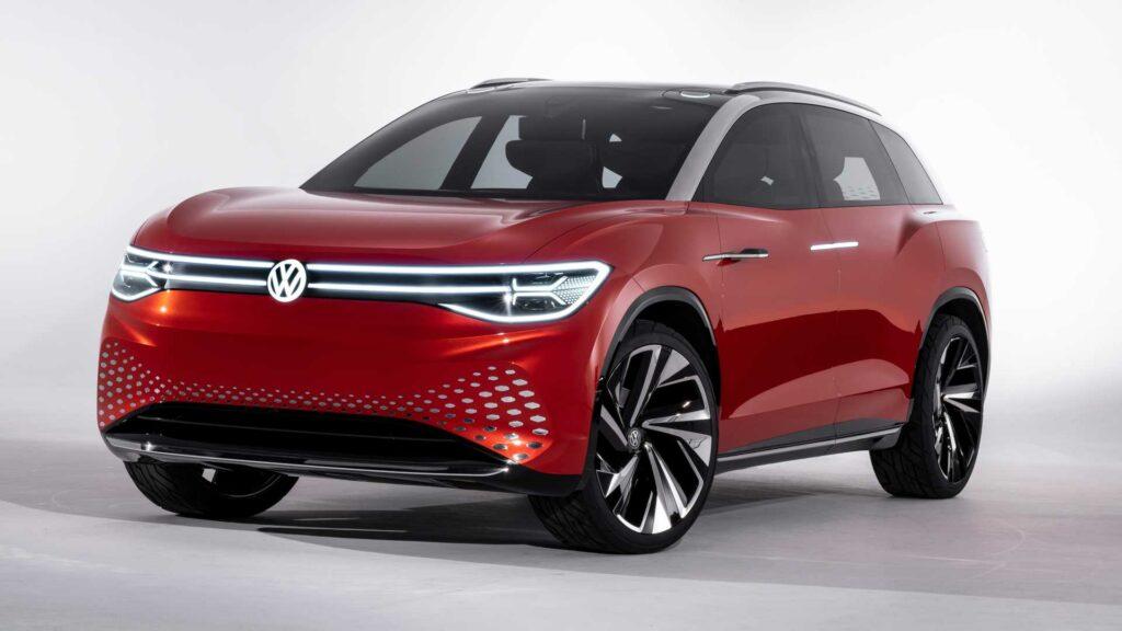 Представлен большой электрический кроссовер Volkswagen ID Roomzz