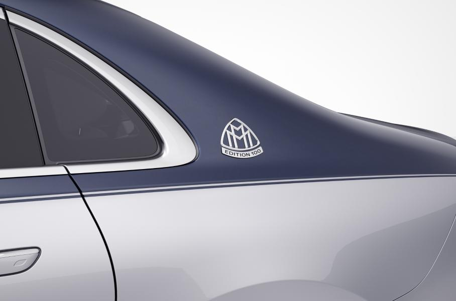 Mercedes-Maybach S-Class получил юбилейную версию в честь 100-летия бренда