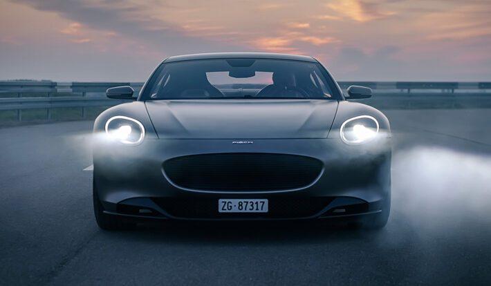Шведская Piech Automotive вывела на тесты новый электрический суперкар Piech GT