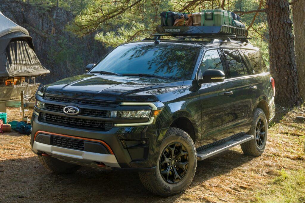 Ford выпустил внедорожный Expedition Timberline 2022 модельного года