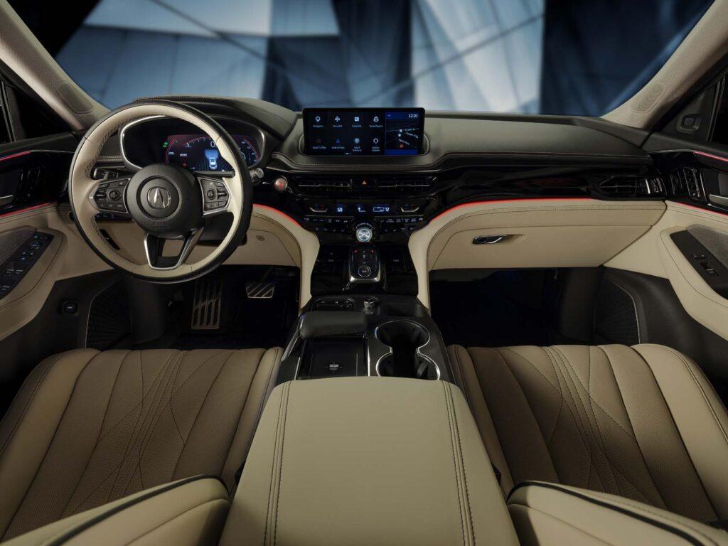 Прототип нового Acura MDX представлен публике