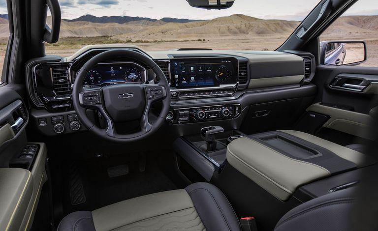 Chevrolet представила внедорожную версию пикапа Silverado 2022 года