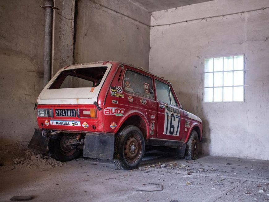 40-летнюю «дакаровскую» Lada Niva продают за 6,5 млн рублей