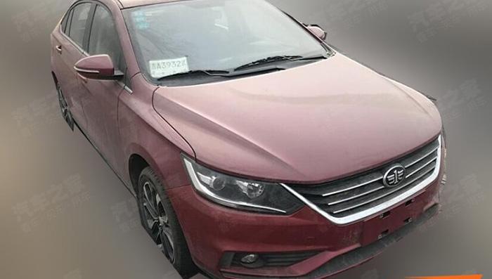 Обновленный седан FAW А50 с дизайном от VW вывели на тесты