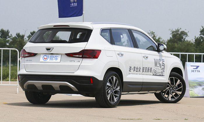 Volkswagen вывел в продажу дешёвый кроссовер Jetta VS5
