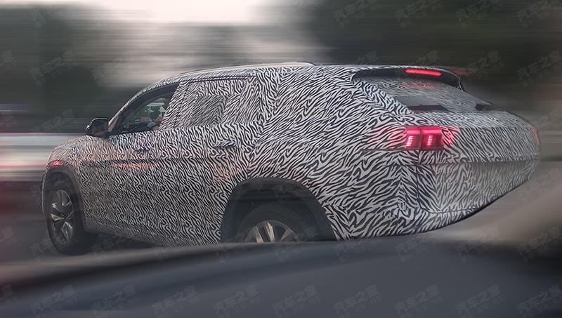 Volkswagen вывела на испытания купеобразный внедорожник Teramont