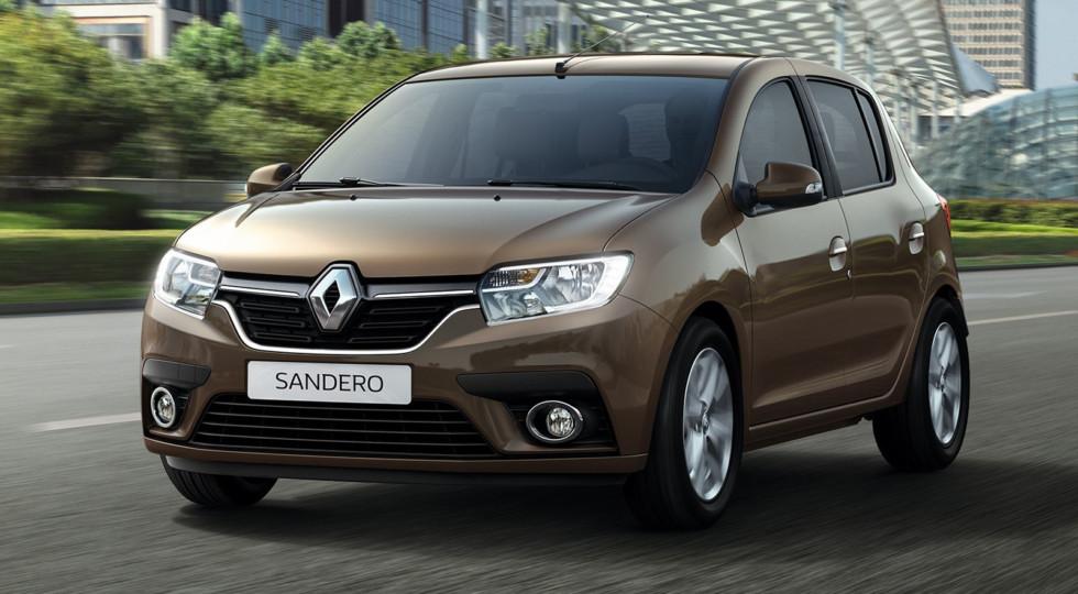 В РФ начались продажи обновленных Renault Logan и Renault Sandero