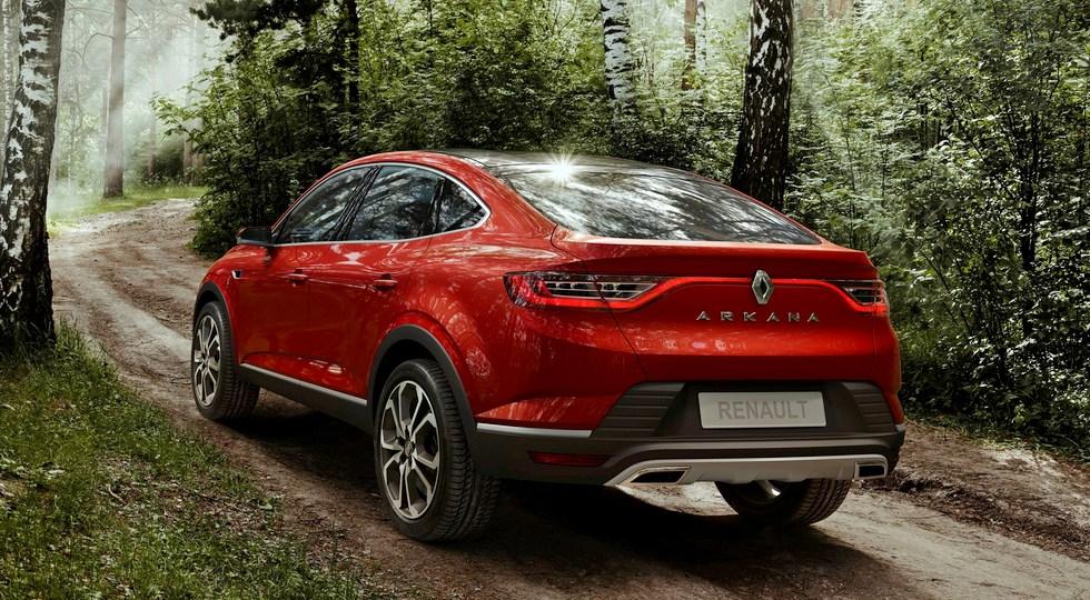Новый кросс-купе Renault Arkana представят в Москве 11 апреля
