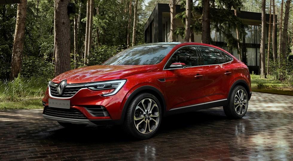 Названы предварительные цены на новый кроссовер Renault Arkana
