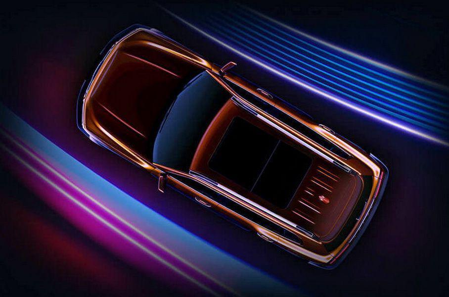 Haval показал первые тизеры внедорожника в стиле нового G-Class