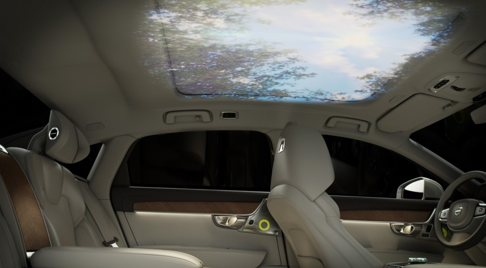 Volvo представила новый роскошный седан Volvo S90 Ambience