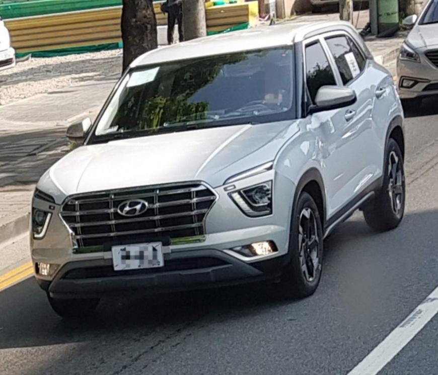 Новый кроссовер Hyundai Creta сфотографировали без камуфляжа