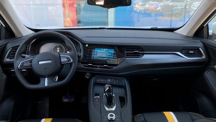 Новый купе-кроссовер Haval F7x уже добрался до дилеров