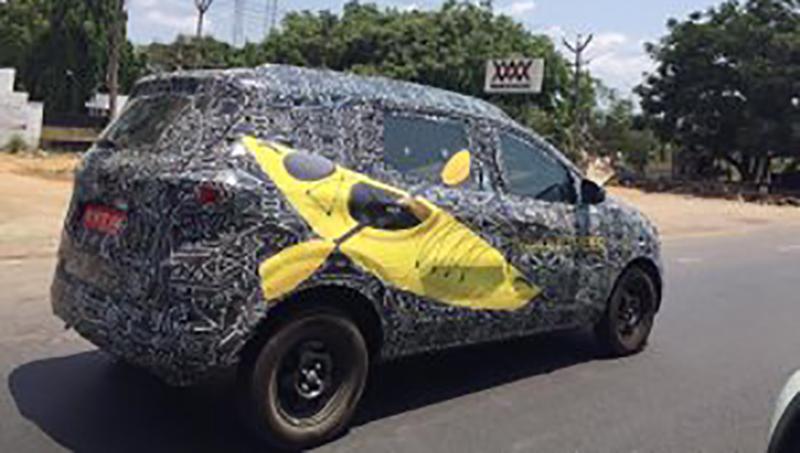 Renault намерена продавать в год более 60 000 компактвэнов Triber