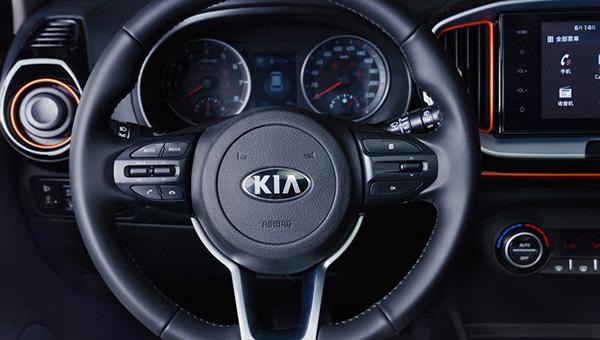 Kia показала салон нового компактного кроссовера Kia KX1
