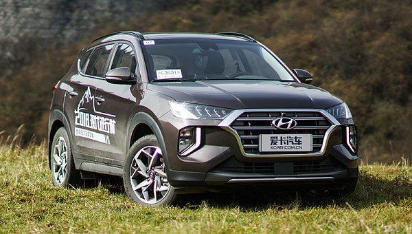 Hyundai начала продажи кроссовера Hyundai Tucson 2019 для Китая