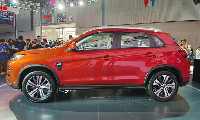 Начались продажи обновлённого кроссовера Mitsubishi ASX