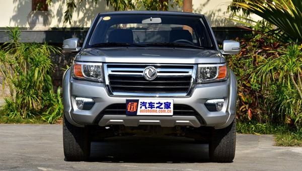 В Китайская республика начались продажи улучшенного пикапа Dongfeng Rich набазе Ниссан Navara