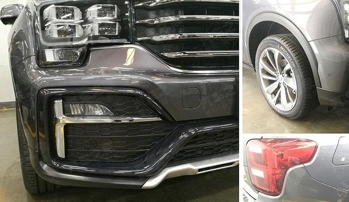Обновленный аналог Toyota Land Cruiser Prado показали на фото