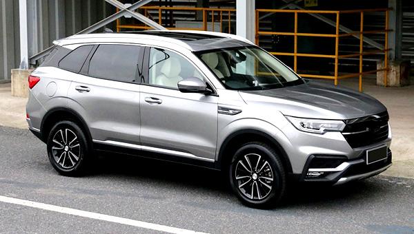 Zotye назвал точную официальную дату начала продаж нового «внедорожника» T500