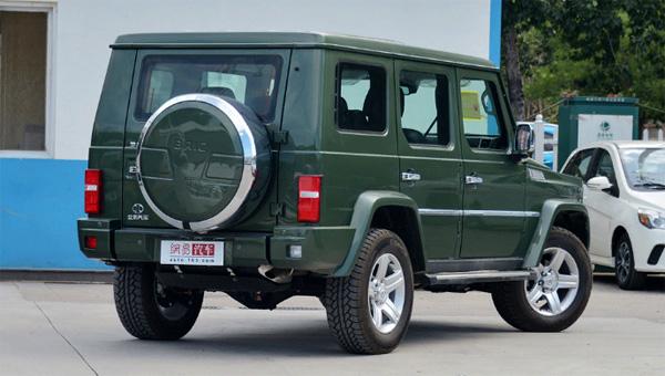 Обновленная копия Mercedes-Benz Gelandewagen дебютирует в Пекине
