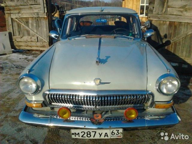 Житель Сызрани за 2,1 млн рублей продает раритетную «Волгу» 1968 года