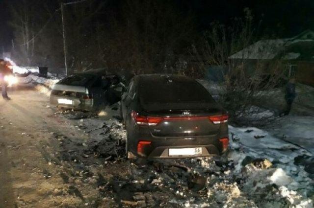 Жуткое ДТП в Бугуруслане - один погиб, четверо пострадали