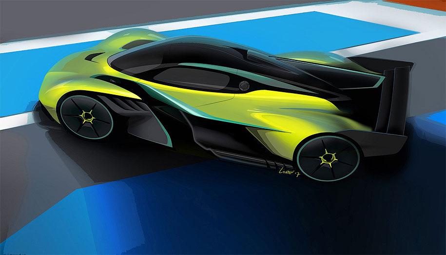 Aston Martin представили трековую версию гиперкара Valkyrie AMR Pro