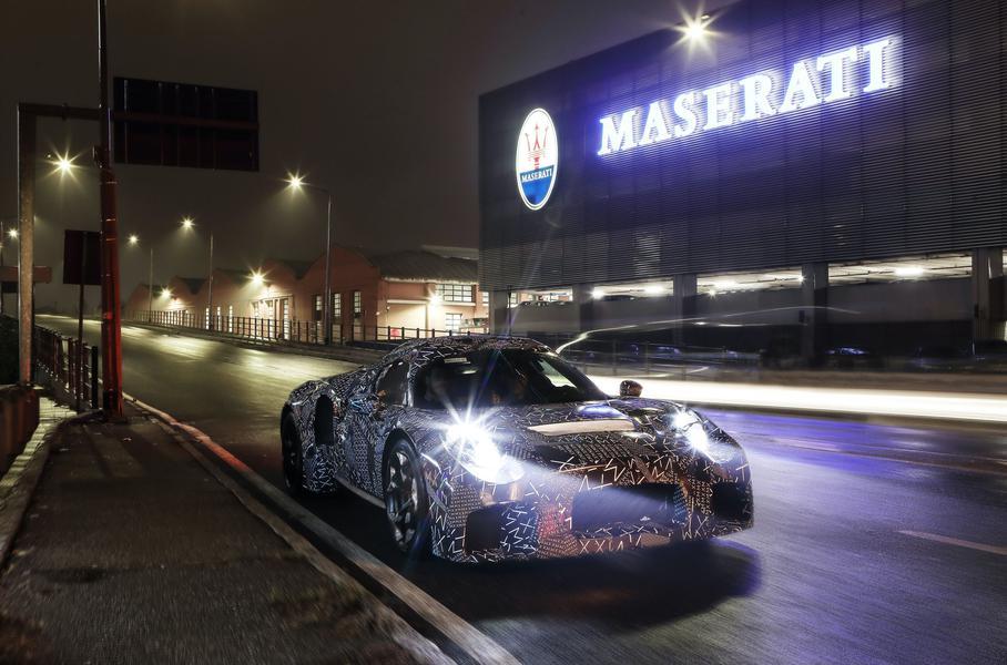 Компания Maserati разрабатывает новейший спорткар
