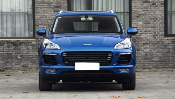 Китайская Zotye обновила кроссовер Zotye SR9 копию Porsche Macan