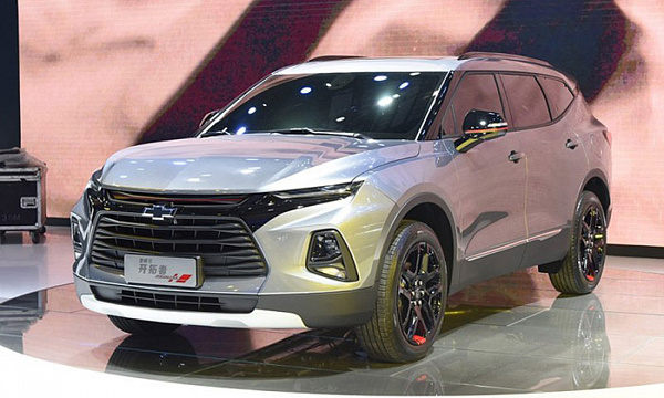 Продажи нового Chevrolet Blazer стартуют уже в декабре