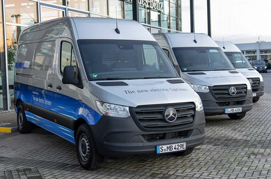 Представлен электрический фургон Mercedes-Benz Sprinter