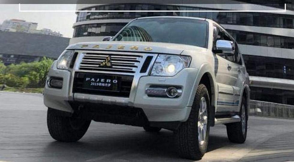 Обновленный внедорожник Mitsubishi Pajero дебютирует 1 июля