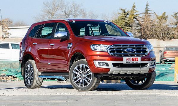 Обновленный внедорожник Ford Endeavour поступил в продажу