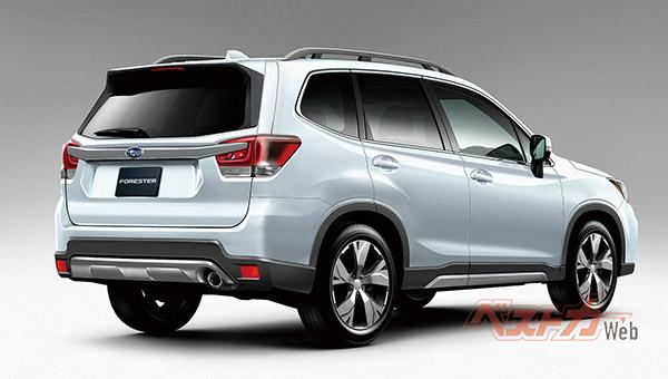 Новое поколение Subaru Forester 2019 рассекретили на официальных фото
