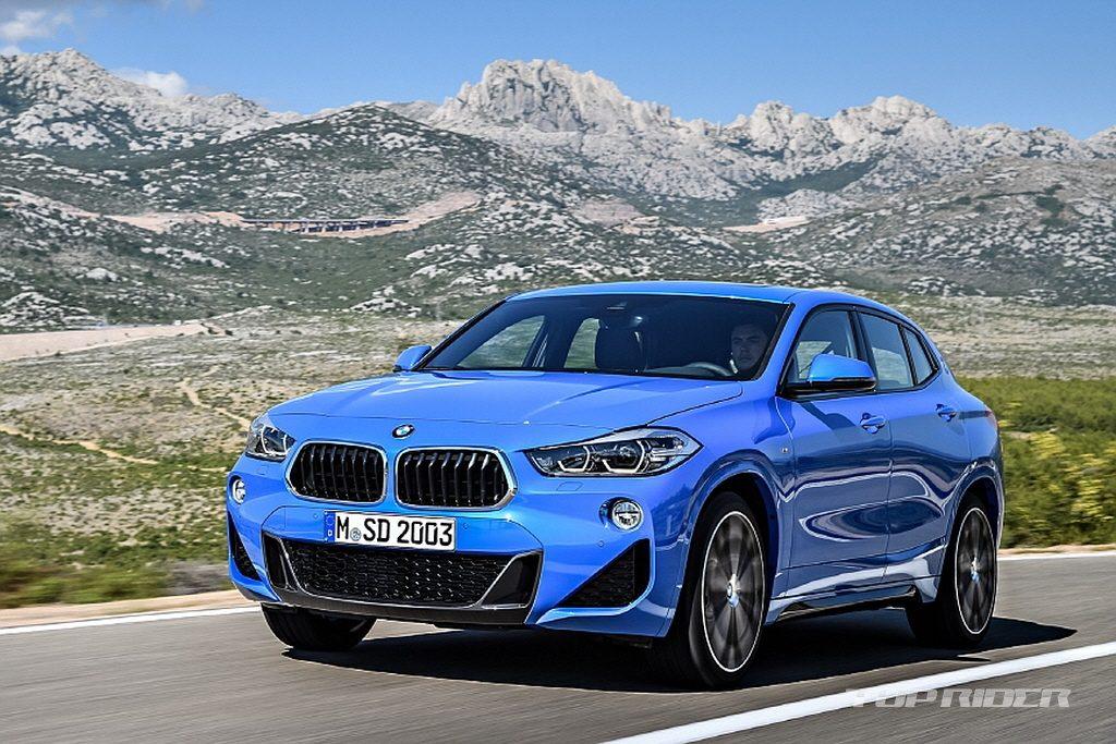 Официальные изображения рассекретили новый BMW X2 до премьеры