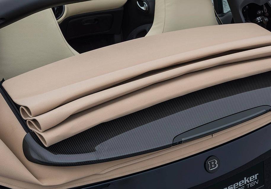 Тюнинг-ателье Brabus сделало Smart по цене Mercedes-AMG C43