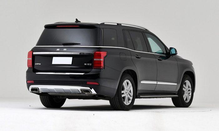 BAIC запустил в продажу свой аналог Mercedes-Benz GL
