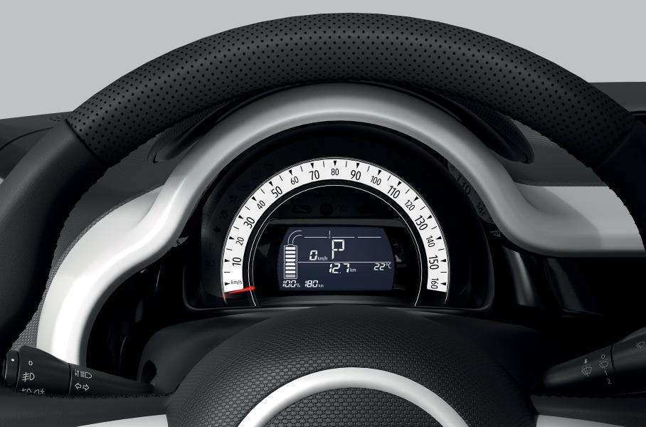 Электрокар Renault Twingo Z.E. получил запас хода в 250 км