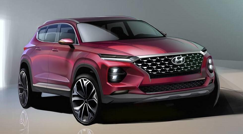 Названы цены на новый кроссовер Hyundai Santa Fe 2019