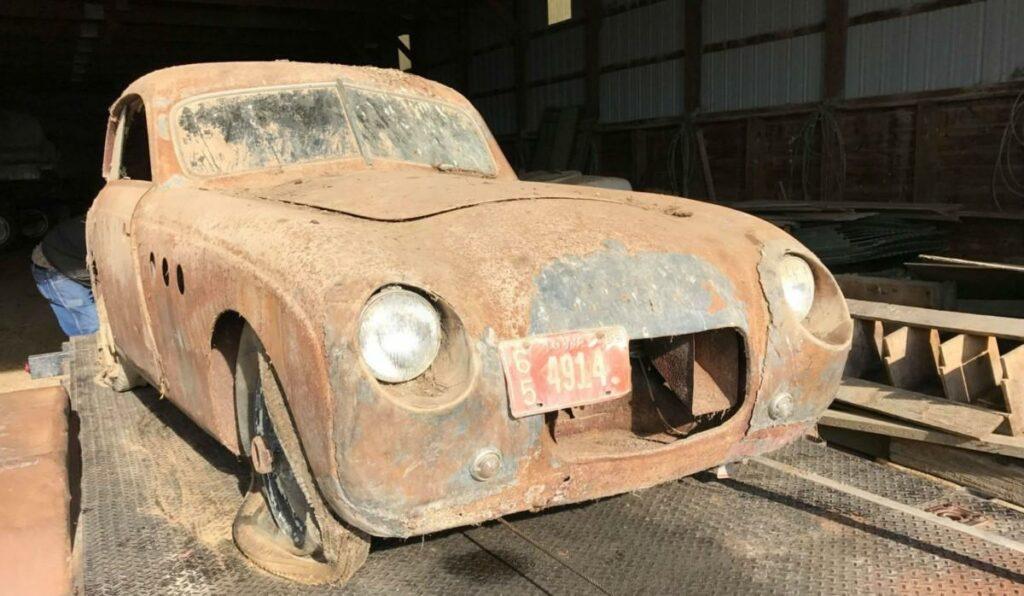 В сарае фермера из США нашли очень редкий BMW 328 1937 года выпуска