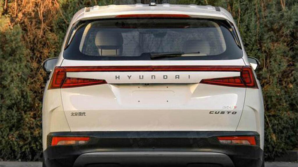 Hyundai запатентовал в Китае новый минивэн Hyundai Custo
