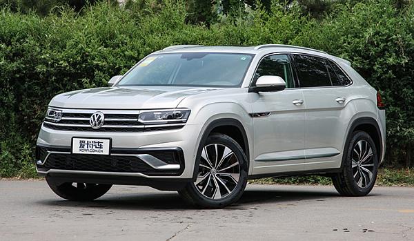 Внедорожное купе Volkswagen Teramont X вышло на рынок Китая