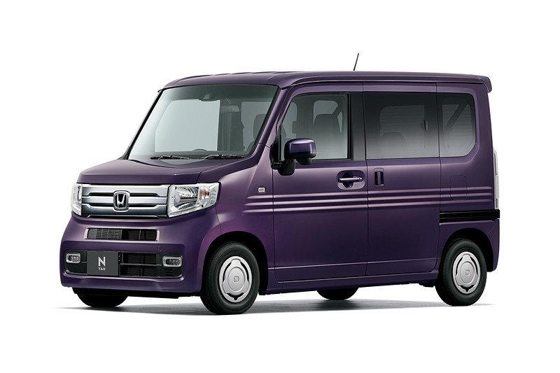 Honda представила новый коммерческий кей-кар Honda N-VAN