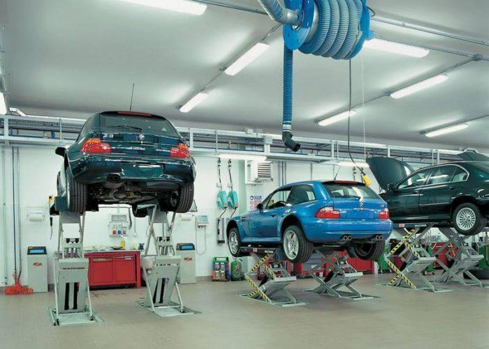 Автомобильные подъемники: виды и применение