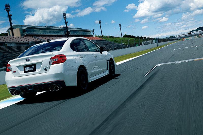 Subaru выпустит лимитированную серию седанов Subaru WRX STI Type RA-R
