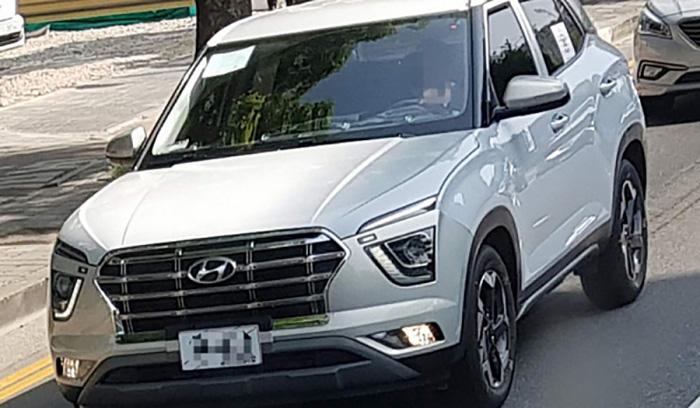 Hyundai Creta нового поколения засветился на тестах без камуфляжа